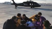 SULTAN ALPARSLAN - Yaşlı Kadın, Askeri Helikopterle Getirildiği Muş'ta Tedavi Altına Alındı
