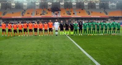 Ziraat Türkiye Kupası Açıklaması Medipol Başakşehir Açıklaması 0 - GMG Kırklarelispor Açıklaması 0 (İlk Yarı)
