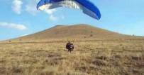 6 Yaşındaki İlayda Babası İle Yamaç Paraşütüyle Uçtu
