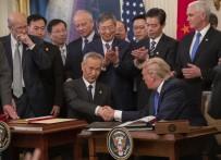 DEVLET BAŞKANI - ABD İle Çin Arasında Ticaret Savaşının Bitirilmesi Yönünde İlk İmza