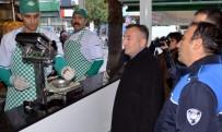 KURUYEMİŞ - Akdeniz Belediyesi, Gıda Üretim Ve Satış Yerlerinde Denetimleri Sürdürüyor
