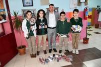 KAYALı - Atık Piller Yarışmayla Toplandı