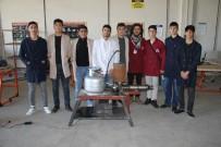 Diyarbakırlı Öğrenciler İtme Kuvvetli LPG'li Jet Motoru Yaptı