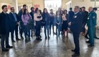 GÜMRÜK MÜDÜRÜ - GAÜN Öğrencilerinden Gaziantep Havalimanı Gümrük Müdürlüğü'ne İnceleme Gezisi