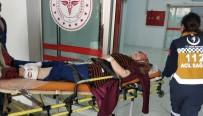 112 ACİL SERVİS - Kadın Arkadaşını Silahla Vurup Polise Teslim Oldu