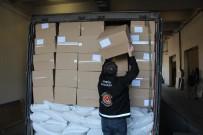 SINIR KAPISI - Kapıkule'de 14 Milyon 750 Adet Makaron Ele Geçirildi