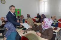 DENIZ PIŞKIN - Kaymakam Pişkin, Kız Kur'an Kursu Öğrencilerini Ziyaret Etti