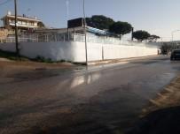 Kaynağı Belli Olmayan Su Akıntısı Tehlike Saçıyor
