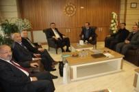 KıRGıZISTAN - Kırgızistan Büyükelçisi Kubanıçbek Ömüraliyev MTSO 'Yu  Ziyaret Etti
