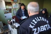 Kızıltepe'de Esnaf Ve Zabıtalar Arasında 'Ruhsat' Gerginliği