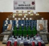 AKILLI CEP TELEFONU - Mardin'de Kargo Aracında Kaçak Malzemeler Ele Geçirildi