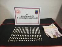 Mersin'de 200 Adet Uyuşturucu Hap Ele Geçirildi