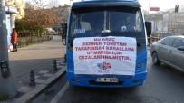 (Özel) Pendik-Kadıköy Hattında Kurallara Uymayan Minibüs Şoförlerine Pankartlı Ceza