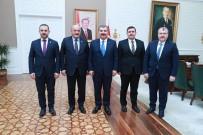 Vali Arslantaş, Ankara'da Bir Dizi Temaslarda Bulundu