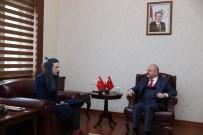 Vali Çakacak, Milli Voleybolcu Boz'u Kabul Etti