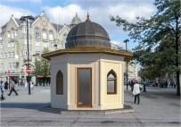 Yozgat'ta Tarihi Dokuya Uygun Yeni Taksi Durağı Yapılıyor