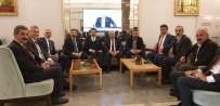 AHMET AYDIN - Ziraat Odası Başkanları Milletvekilleriyle Görüştü