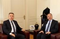 Ağrı Valisi Elban, AİÇÜ Rektörü Prof. Dr. Karabulut'u Ziyaret Etti