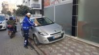 Akhisar'da Usulsüz Parklanmaya Cezai İşlem
