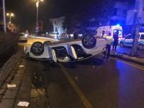 ELEKTRİK DİREĞİ - Ankara'da İki Ayrı Trafik Kazası Açıklaması 5 Yaralı