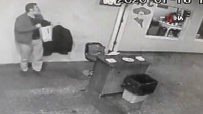 AŞTİ'de cep telefonu hırsızlığı kamerada!