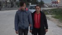 ANTAKYA - Arkadaşını Bıçakla Tehdit Edip Tokatladı