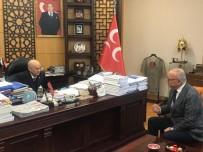 DEVLET BAHÇELİ - Başkan Ergün MHP Genel Başkanı Bahçeli'ye Projelerini Sundu