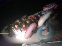 FILISTIN - Bodrum'da 36 Göçmen Yakalandı