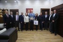 Eskişehir Kent Konseyi Başkan Kurt'u Ziyaret Etti