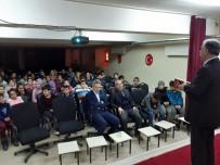 SOSYAL SORUMLULUK - Gazeteci Çelik, Öğrencilere Gazetecilik Mesleğini Anlattı