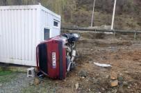 112 ACİL SERVİS - Gümüşhane'de Gizli Buzlanma Kazaya Neden Oldu Açıklaması 2 Yaralı