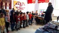 SOSYAL SORUMLULUK - HEM Kursiyerlerinden Köy Okulu Öğrencilerine Karne Hediyesi