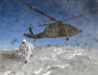 Karla kaplı dağlarda PKK'ya dondurucu darbe