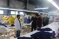 FABRIKA - Kaymakam Köleoğolu, Tekstil Fabrikasını Ziyaret Etti