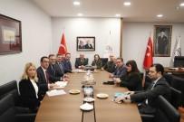 İBRAHIM YıLMAZ - Kültür Ve Turizm Bakan Yardımcısı Yavuz'dan ATO Başkanı Baran'a Ziyaret