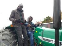 AFRIKA - Libya'ya Traktör İhracatı Başladı