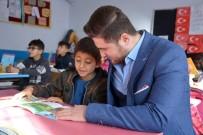 SOSYAL SORUMLULUK - Öğrencilerin Kitap İsteğini Kaymakam Çam Yerine Getirdi