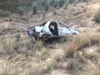 MEHMET KESKIN - Osmaniye'de Otomobil Uçuruma Yuvarlandı