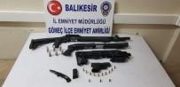 Polis, Körfez İlçelerinde Yaptığı Uygulamalarda 9 Adet Silah Ele Geçirdi