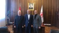 ERMENEK - Sarıtaş, Ermenek'in Yatırım Ve Projeleri İçin Ankara'da Temaslarda Bulundu