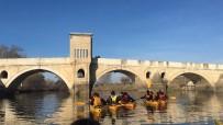 SU SPORLARI - Trakya Üniversitesi Yelken Ve Kürek Topluluğu'ndan Meriç Ve Tunca'da Kano Etkinliği