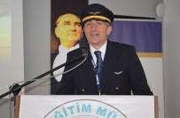 SOSYAL SORUMLULUK - Türkiye'nin İlk 100 Pilotundan Pilot Serdar Can Öğrencileri Bilgilendirdi