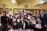 Başkan Ali Sülük Öğrencilerin Karne Heyecanına Ortak Oldu