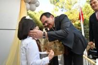 Başkan Demir, Öğrencilerin Karne Heyecanına Ortak Oldu