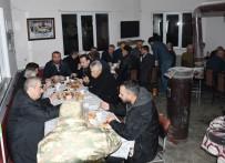 'Bereket Sofrası' Boğazköy Camiinde Kuruldu
