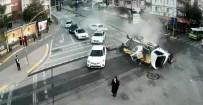 Bursa'daki Feci Kaza Güvenlik Kamerasında
