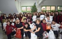 SOSYAL SORUMLULUK - Bursalı Gençler, Mardinli Çocukların Yüzlerini Güldürdü