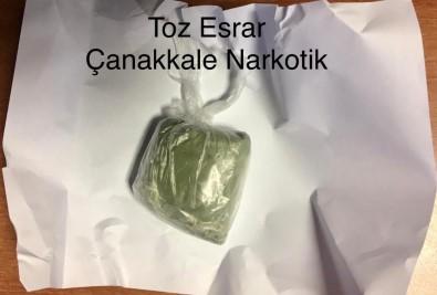 Çanakkale'de Uyuşturucu Operasyonu Açıklaması 3 Tutuklama