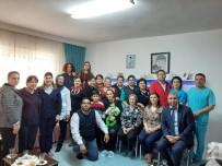 HASTANE YÖNETİMİ - Dalaman Devlet Hastanesi Yönetiminden Anlamlı Ziyaret