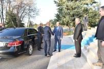 DÜ Rektörü Prof. Dr. Gül, Azerbaycan Kars Başkonsolosu Guliyev'i Ağırladı